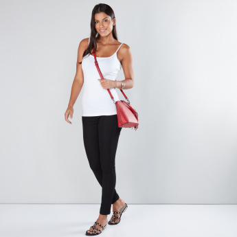 Sleeveless Camisole with Round Neckline