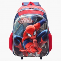 Spiderman Print Trolley School Bag