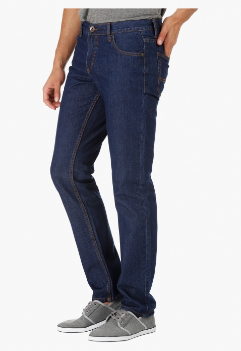 Plain Jeans in Slim Fit