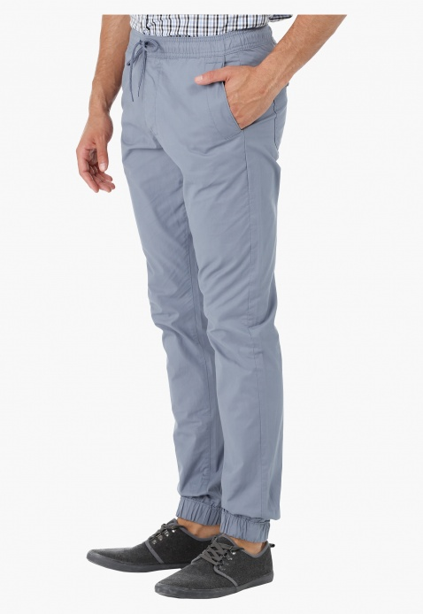 Cuffed Drawstring Jog Pants