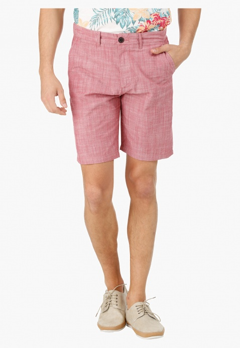 Textured Shorts in Slim Fit