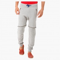 Biker Joggers with Zip Detailing and Ribbed Cuffs