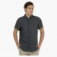 Chequered Short-sleeved Fashion Shirt