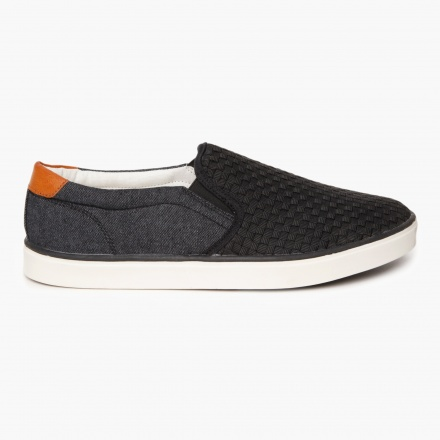 Knitted Slip-on Canvas Shoes