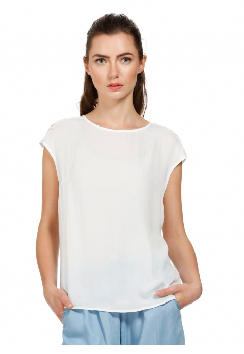 High-Low Hem Blouse