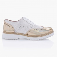 Studded Slip-on Brogues