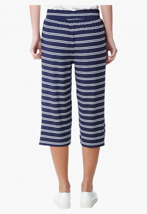 Striped Jersey Culotte