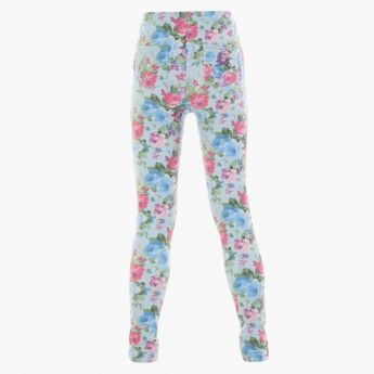 Floral Print Jeggings