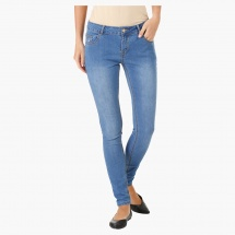 Medium Wash Jeans in Skinny Fit