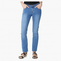 Basic Medium Wash Jeans in Regular Fit