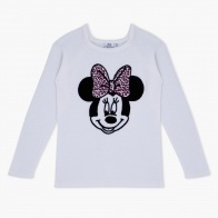 Minnie Mouse Printed Cotton Sweater