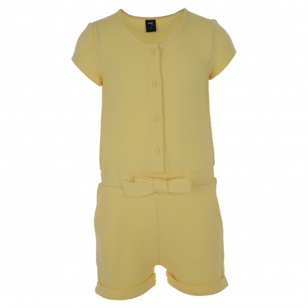 Short-sleeve Jumpsuit
