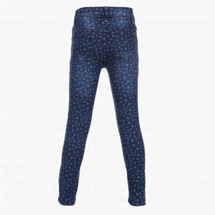 Heart Printed Denims