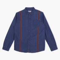 Denim Long Sleeves Shirt with Patch Pocket