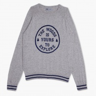 Printed Cotton Sweat Top