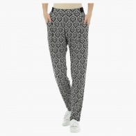 Printed Knit Pants
