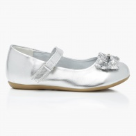 Sequin Mary Jane Shoes with Velcro Strap